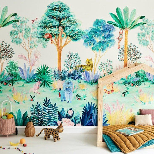 Jungle Mural - Project Nursery