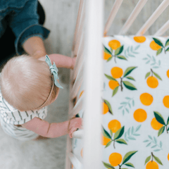 Clementine Crib Sheet - Project Nursery