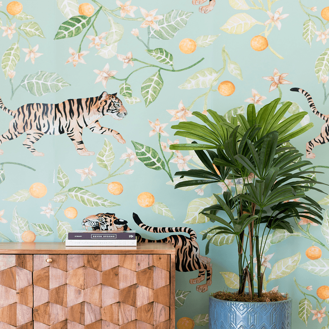 Clementine Wallpaper Mural - Project Nursery