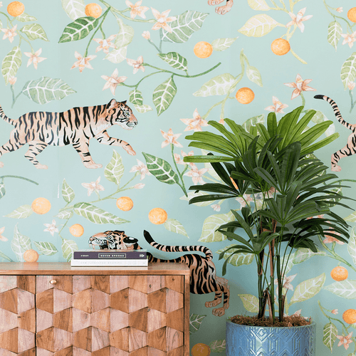 Clementine Mural - Project Nursery