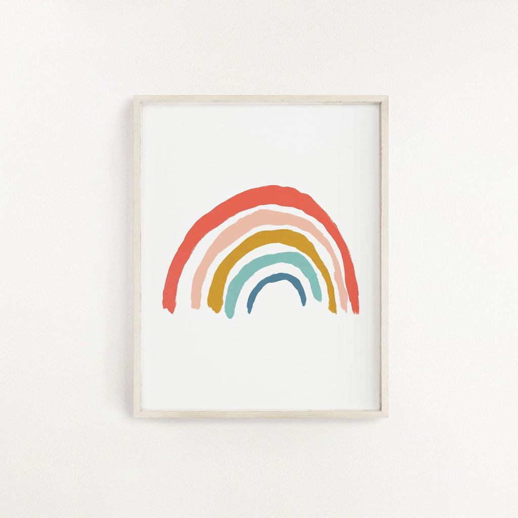 Rainbow Art Print - Project Nursery