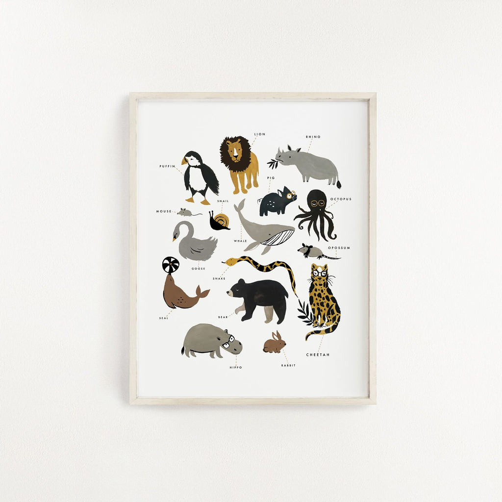 Zoology Art Print - Project Nursery