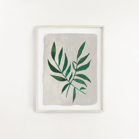 Slow Living Art Print