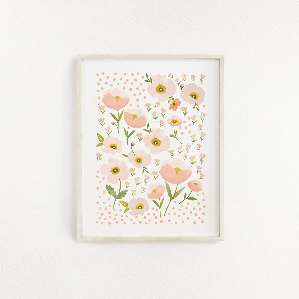 Blush Bloom Art Print - Project Nursery