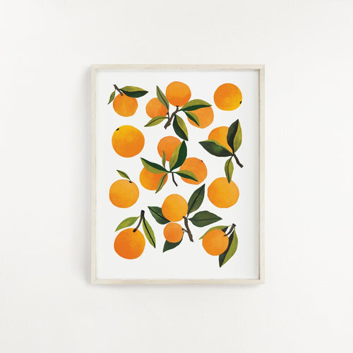 Fresh Clementine Art Print - Project Nursery