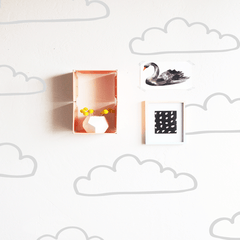Die Cut Clouds Wall Decal - Project Nursery