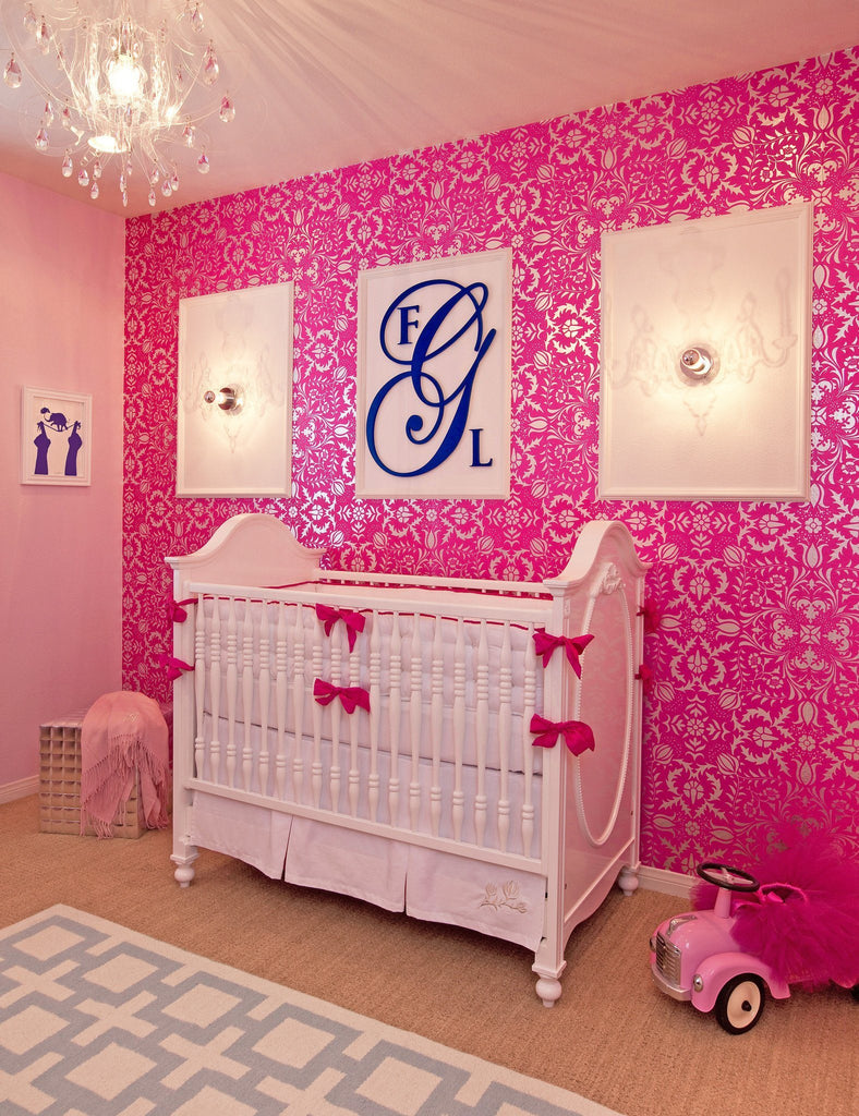 Wood Wall Monogram  - The Project Nursery Shop - 3