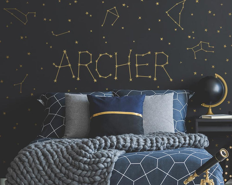 Personalized Constellation Name Wall Decal Set - Project Nursery