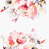 Contemporary Spring Floral Wallpaper  - The Project Nursery Shop - 1