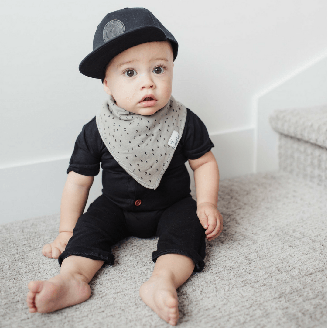 Monochrome Bandana Bib Set - Project Nursery