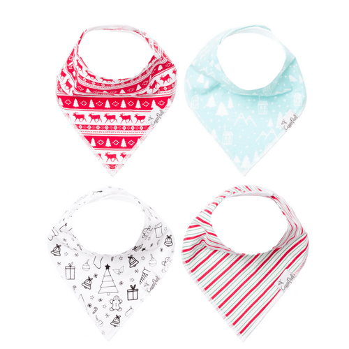 Noel Bandana Bib Set - Project Nursery
