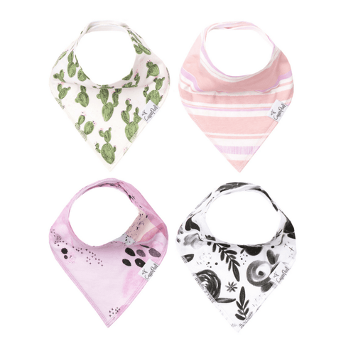 Oh So Soft Luxury Muslin Bandana Bib - Dottie