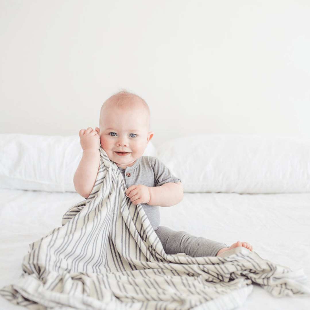 Midtown Knit Swaddle Blanket - Project Nursery