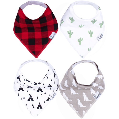 Phoenix Bandana Bib Set - Project Nursery