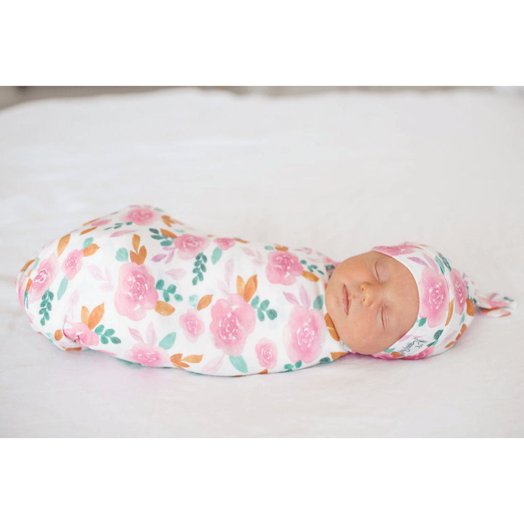 Siena Knit Swaddle Blanket - Project Nursery
