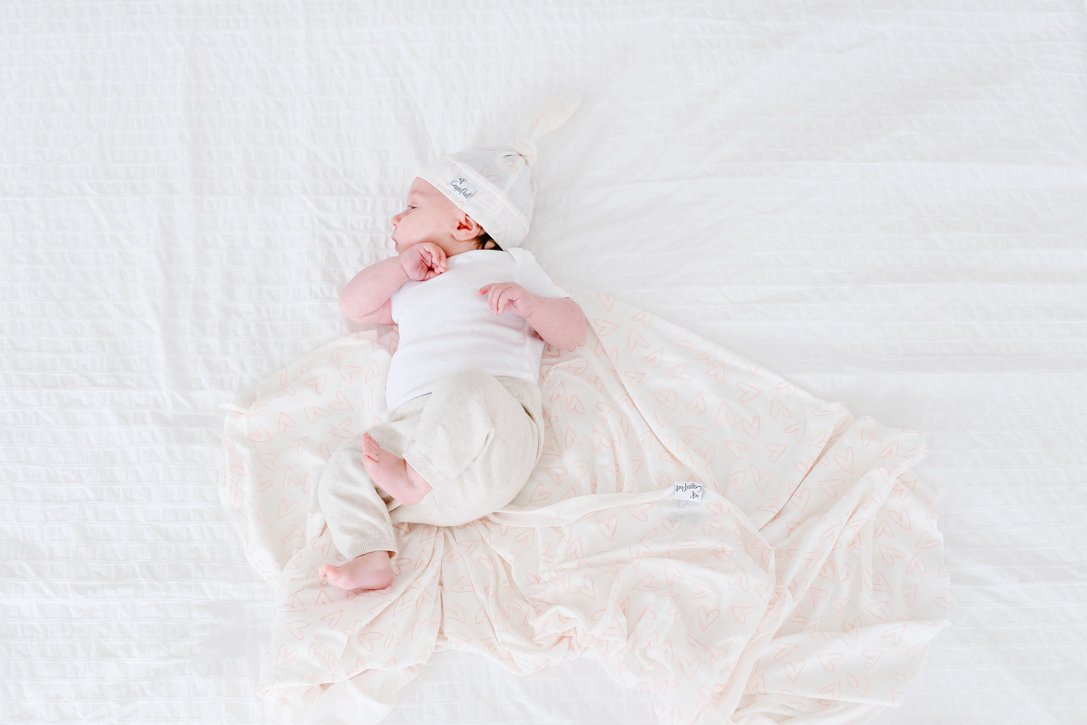 Lola Knit Swaddle Blanket - Project Nursery