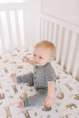 Noah Crib Sheet - Project Nursery
