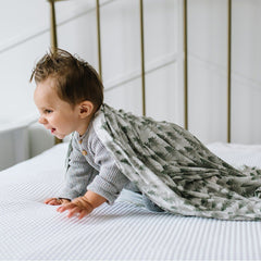 Evergreen Knit Swaddle Blanket - Project Nursery