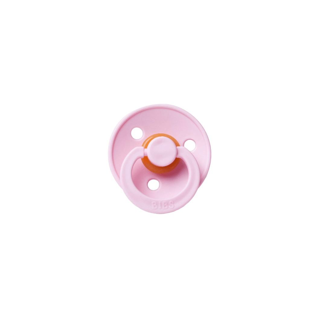 BIBS Round Pacifier - Baby Pink - Project Nursery