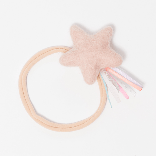 Cotton Candy Pink Sparkler Star Headband - Project Nursery