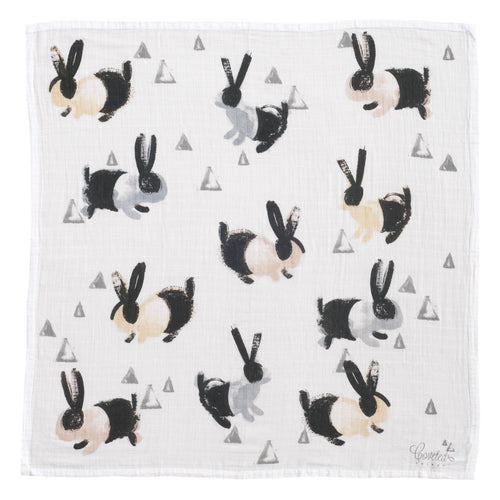 Bunny Organic Swaddle Scarf - Project Nursery