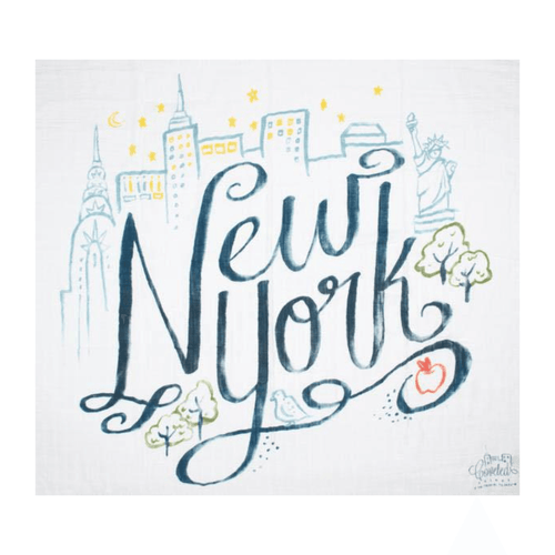 New York Organic Swaddle Scarf - Project Nursery