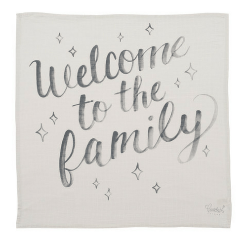 Welcome to the Family Organic Swaddle Scarf - Project Nursery