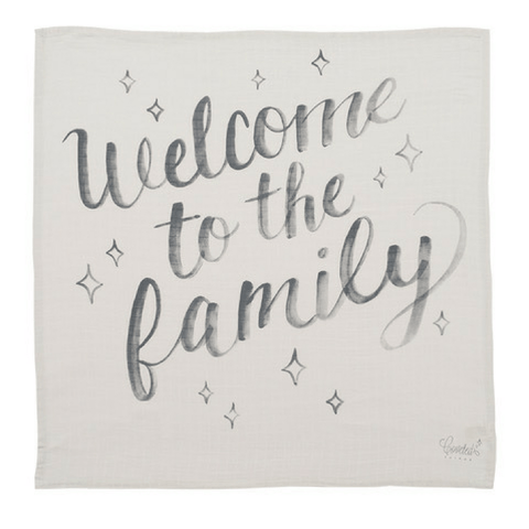 'Dream Together' Organic Swaddle Scarf