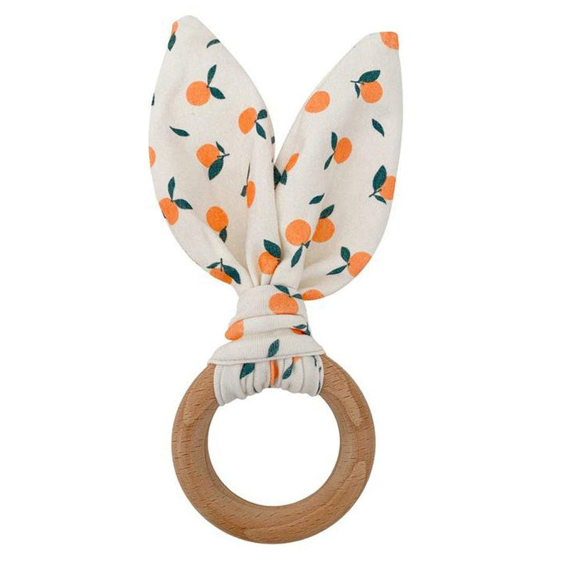 Crinkle Bunny Teether - Clementine - Project Nursery