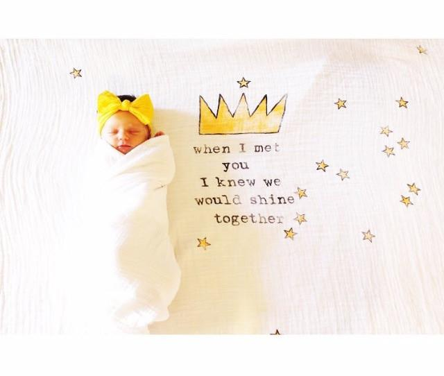 Crown Organic Swaddle Scarf - Project Nursery