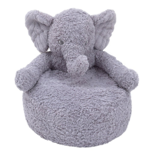 Grey Elephant Luxe Cuddle Plush Chair - Project Nursery
