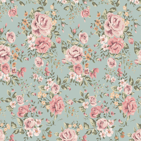 Marley Dark Floral Wallpaper