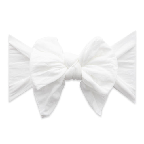 White Dot Enormous Knot Headband - Project Nursery