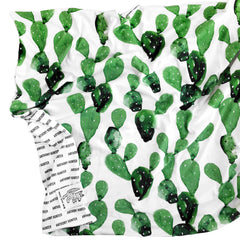 Organic Personalized Cactus Blanket - Project Nursery