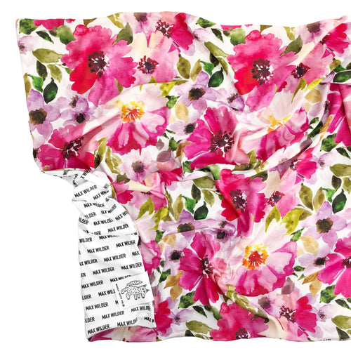 Organic Personalized Floral Blanket - Project Nursery