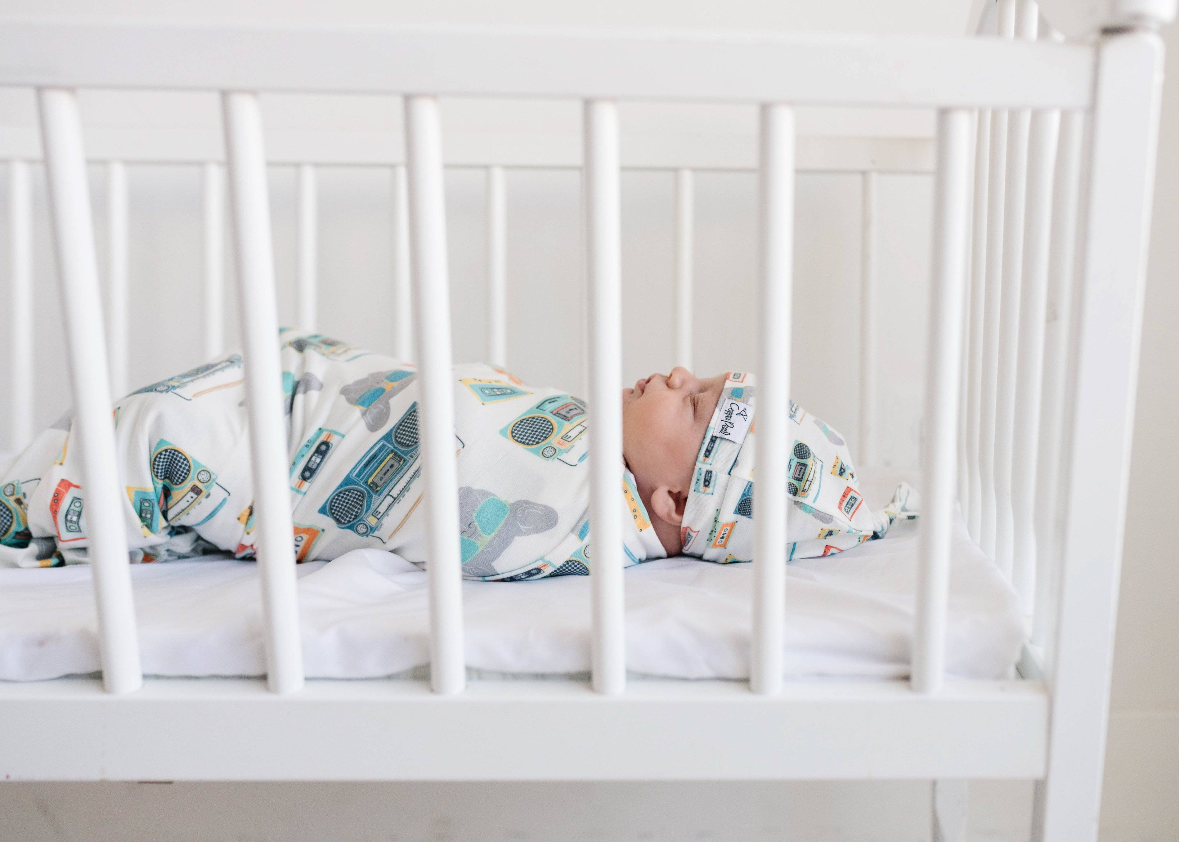 Bruno Knit Swaddle Blanket - Project Nursery