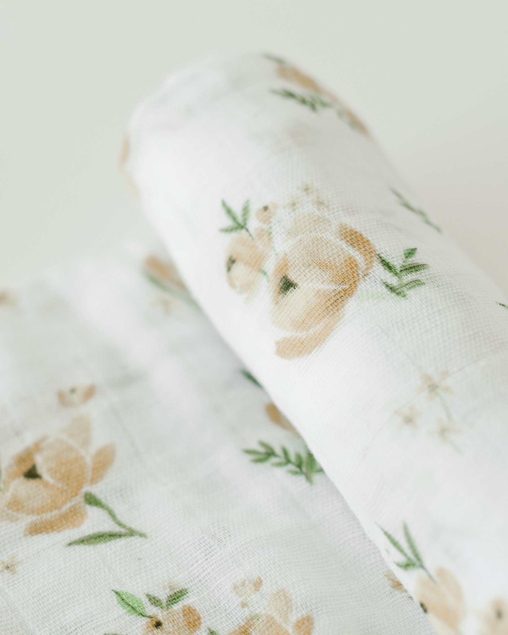 Yellow Rose Swaddle - Project Nursery