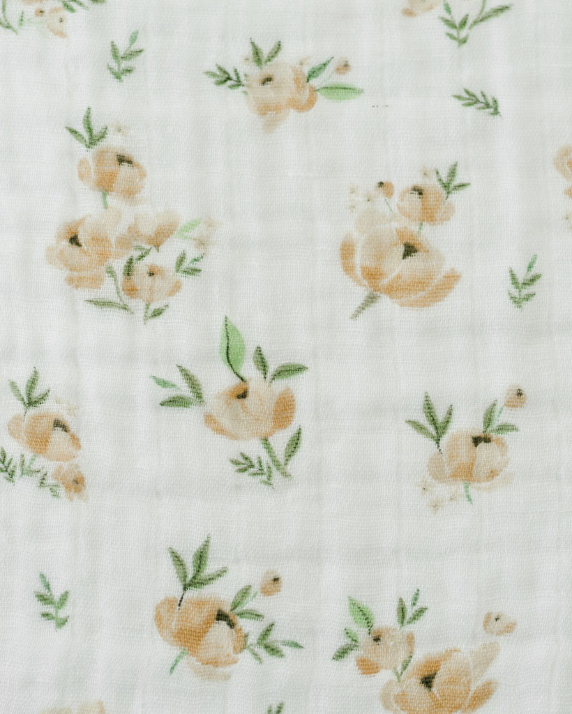 Yellow Rose Swaddle  - The Project Nursery Shop - 4