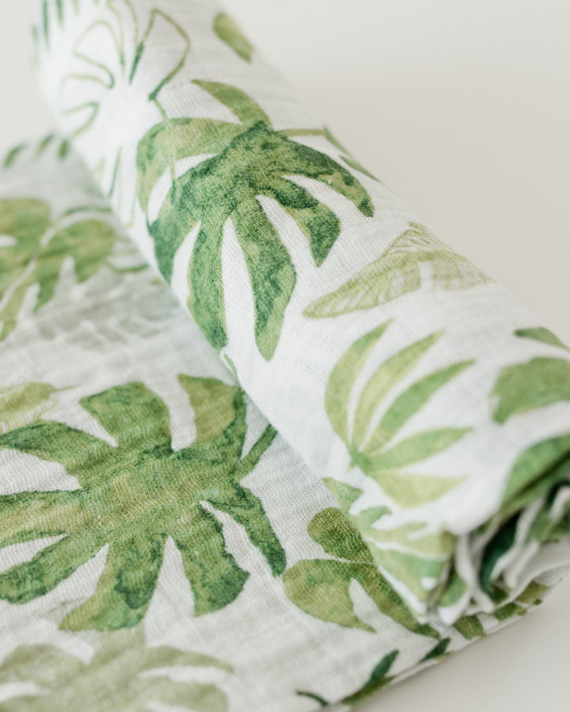 Tropical Leaf Swaddle  - The Project Nursery Shop - 4