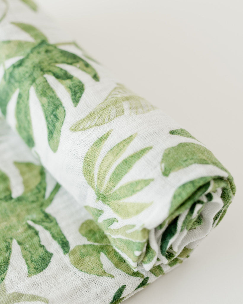 Tropical Leaf Swaddle  - The Project Nursery Shop - 5