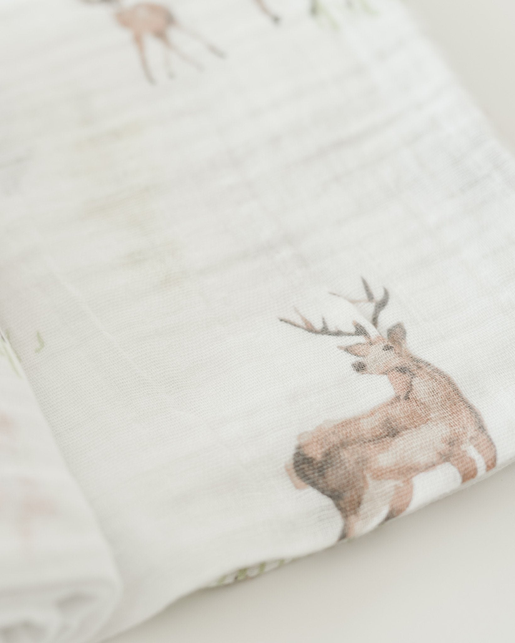 Oh Deer Swaddle - Project Nursery
