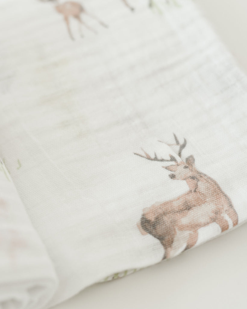 Oh Deer Swaddle  - The Project Nursery Shop - 2