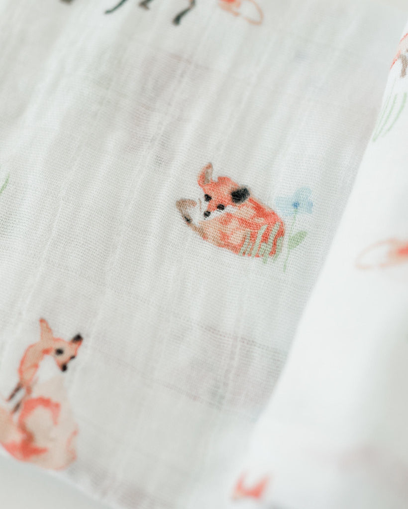 Fox Swaddle  - The Project Nursery Shop - 2