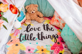 'Little Things' Organic Cotton Knit Blanket  - The Project Nursery Shop - 5