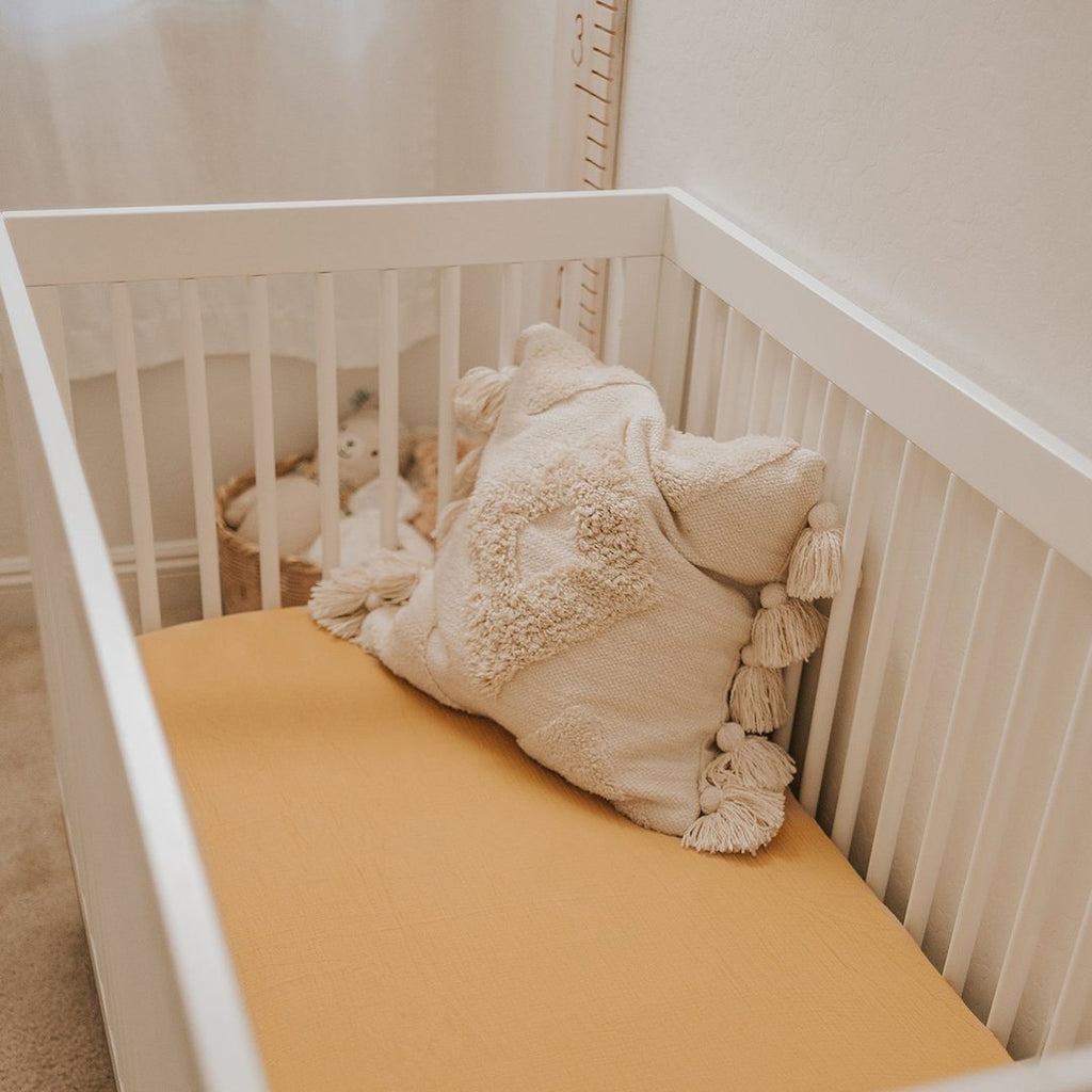 Honey Crib Sheet - Project Nursery