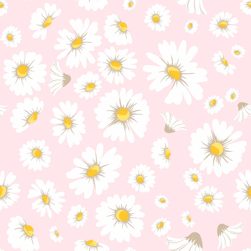 Daisy Bloom Wallpaper - Project Nursery