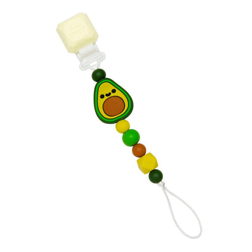 Darling Pacifier Clip - Avocado - Project Nursery