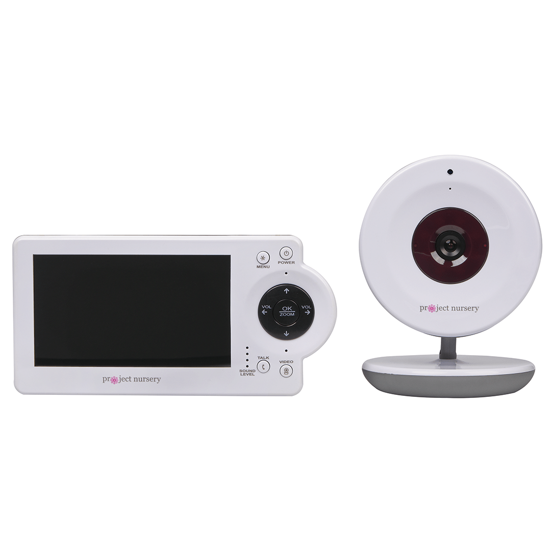 Project Nursery Video Baby Monitor System with Digital Zoom Camera - Project Nursery