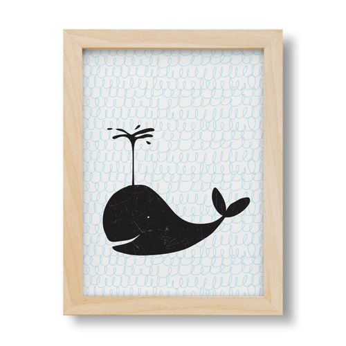 Ben the Whale Print - Project Nursery