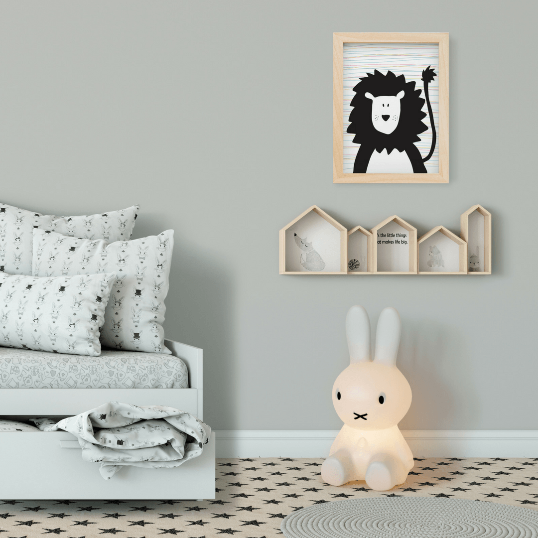 Freckle the Lion Print - Project Nursery